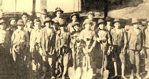 jóvenes mineros